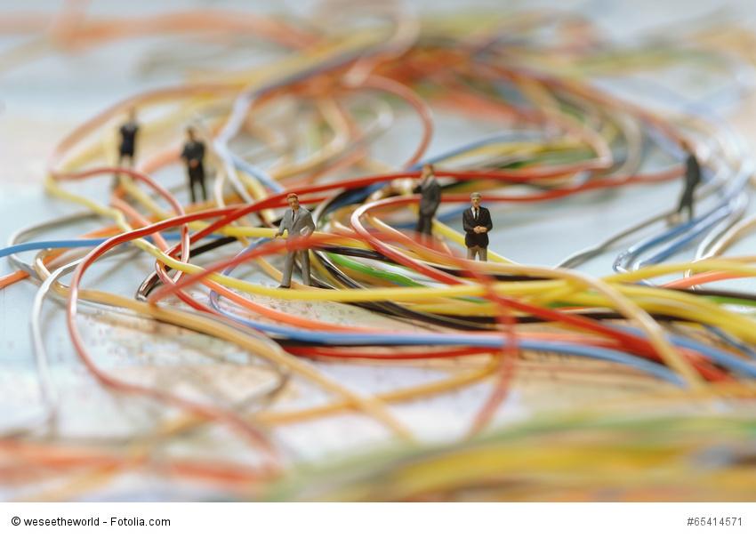 querdenken, assoziationen, netzwerke, geschäftsleute