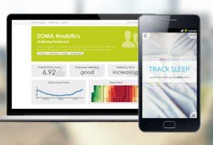 soma analytics, app, stress, stressprävention