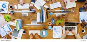 büro, zusammenarbeit, collaboration, new work, räume, unternehmenskultur