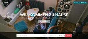 airbnb, screenshot, design thinking