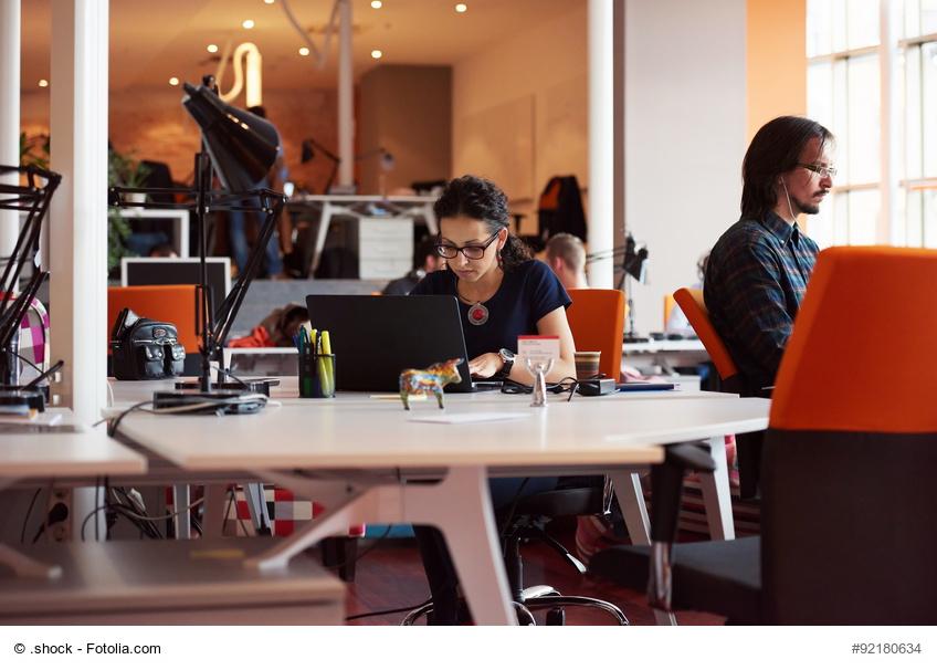 StartUp, StartUp Bedingungen, Büro, Arbeiten, Work Life Balance