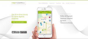 Mobilität, memobility, smarte produkte, apps, smart services