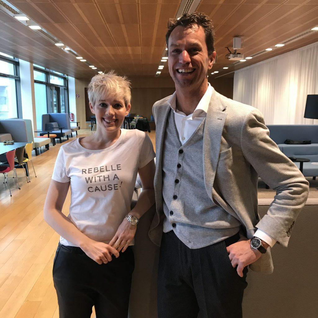 steffi Burkhart, stephan grabmeier, generation y, organisationsrebellen talk