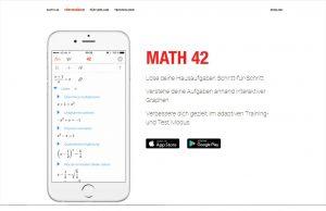 math42, matheapp, bildungsstartup