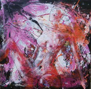 Gemälde, Mira Meiler, die nackte wahrheit