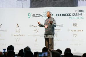 Global Social Business Summit, Global Social Business Summit 2018, GSBS, Mohammed Yunus