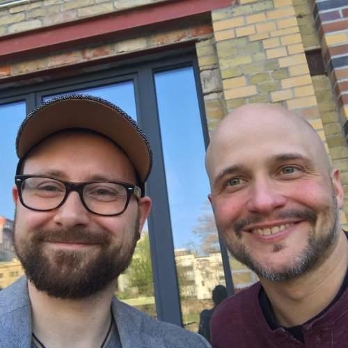 Paul Hofmann und Dr. Fabian Feutlinske